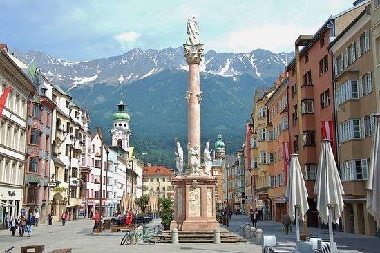 Besøk Innsbruck - hovedstaden i Tyrol