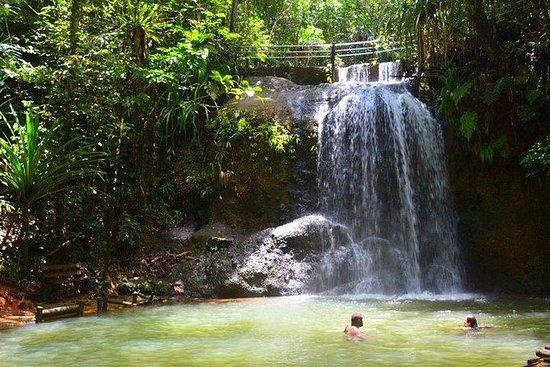 スバの自然と滝のツアー