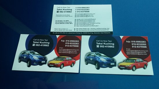 Taxi Service Kuching: This is my name Card, please Call or Whatsapp me if you need CAR CHARTER service or taxicab
