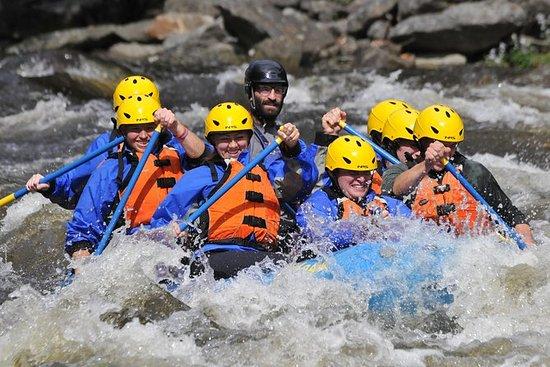 Rafting dans la rivière West