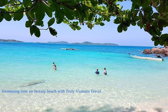 乘坐快艇在An Thoi群岛进行惊人的私人浮潜之旅