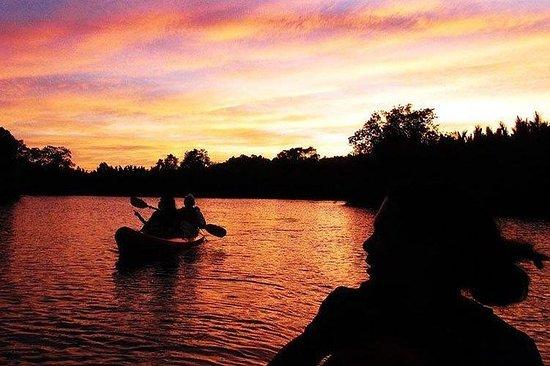 Luciérnaga kayak con cena