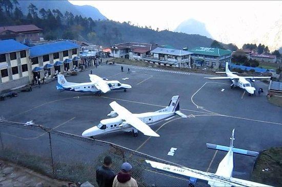 Boleto de avión de Katmandú a Lukla