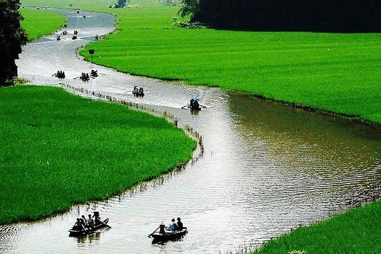 Hoa Lu Tam Coc 1 Tagesausflug von Hanoi...