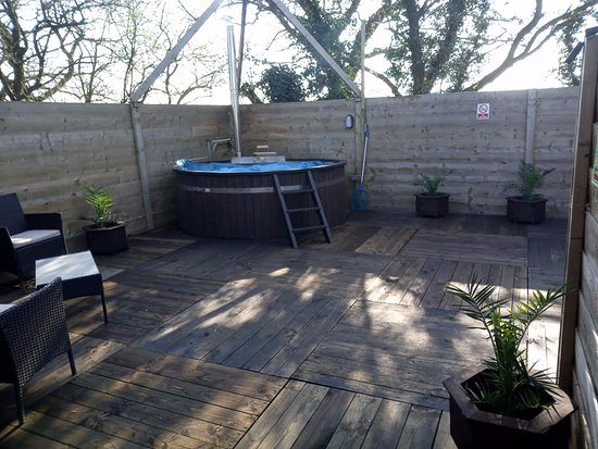 All new spa area. - Picture of Oak Lodge Retreat, Brome - Tripadvisor