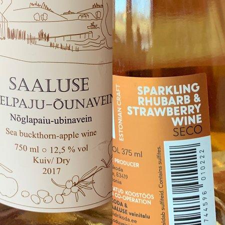 Meegomae, Estland: в ресторане можно купить местные вина
