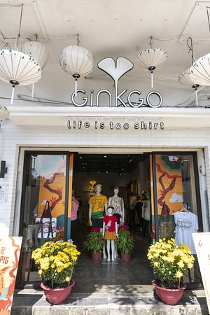 Ginkgo T-Shirts Store Le Loi