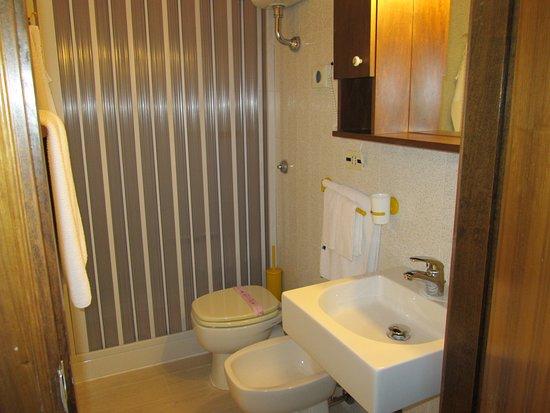 Tropical Hotel: Bagno con doccia.