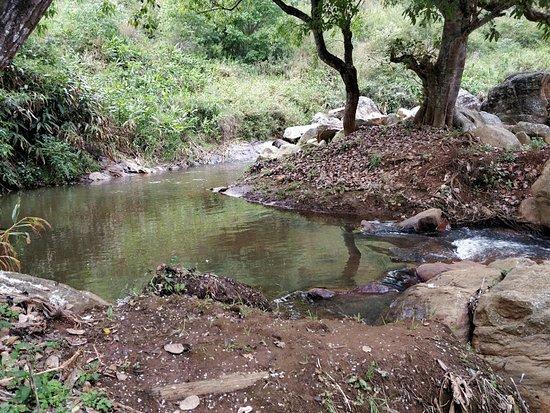 La Maison: Small stream nearby