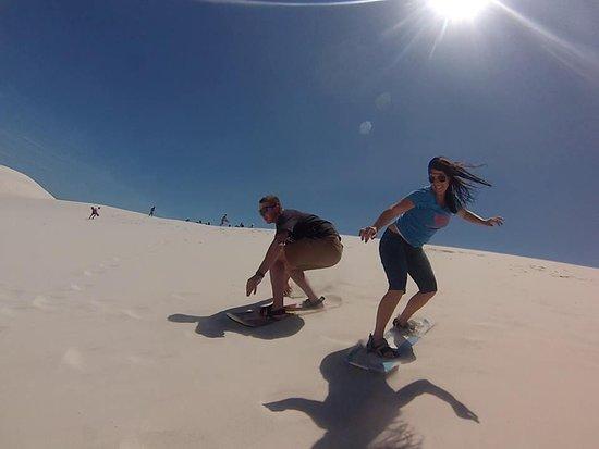 Mamba Sandboarding, Jeffreys Bay