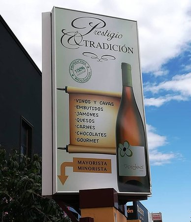 Prestigio Y Tradicion: OUR ENTRANCE BOARD