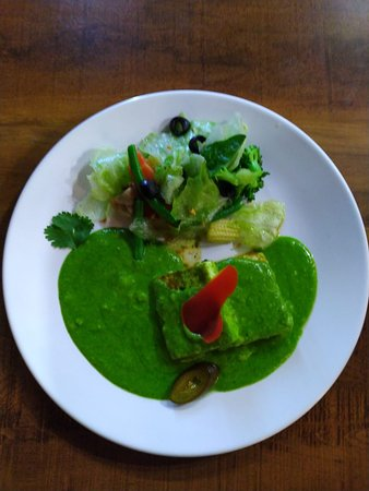 Instafit The Fitness Kitchen: Cottage Cheese Spinach in Pesto Sauce