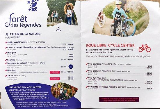 Activités et Loisirs Villages Nature Paris