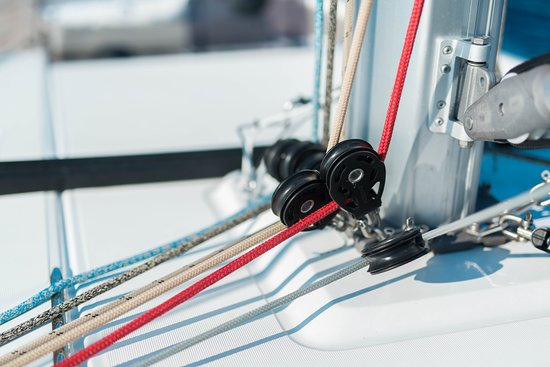 Navigare Yachting: detail from the yacht