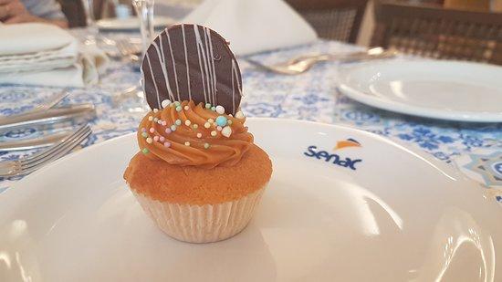 SENAC Restaurante: Sobremesa deliciosa servida no Buffet