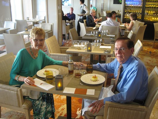 Viking Star: Special Dinner on Ship