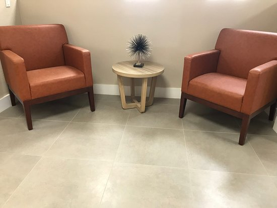 Love to people watch?  Here is the perfect spot at the Country Inn & Suites Greenville