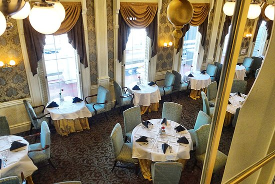 American Queen: J.M. White Dining Room
