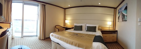 Regal Princess: accessible balcony stateroom