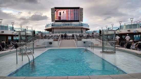 Regal Princess: Movies Under the Stars -- Cloudy day in NYC