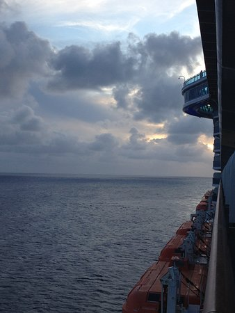 Regal Princess: View from cabin