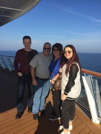 Norwegian Breakaway: Taking a stroll on the waterfront 12/12/2015