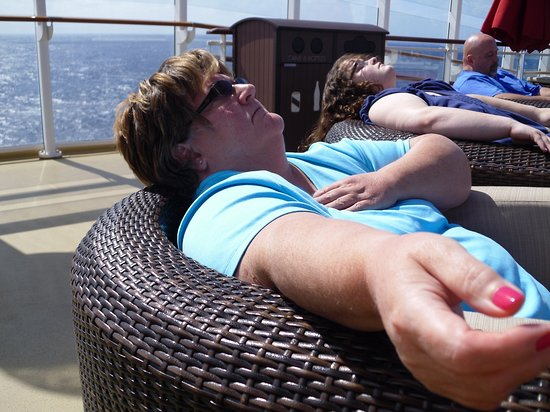 Norwegian Getaway: Chilling out on the Getaway! ahhhh!