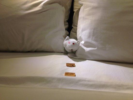 Norwegian Breakaway: Little towel mouse