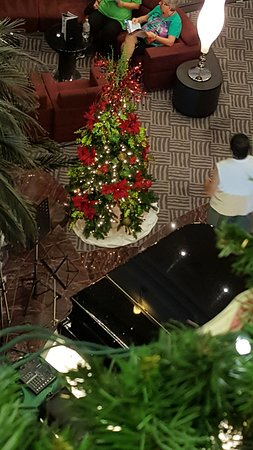 MSC Divina: holiday decorations in the atrium