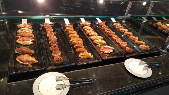 MSC Divina: Top Sail hors d'oeuvres