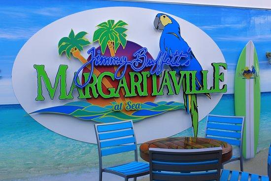 Norwegian Escape: Margaritavile restaurant