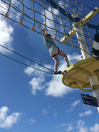 Carnival Sunshine: SkyCourse. Great Activity.