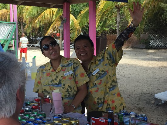 Star Legend: Bar tenders at Beach BBQ