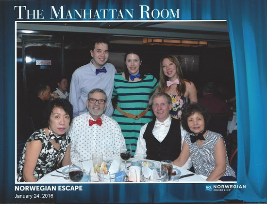 Norwegian Escape: Our Cruise Group