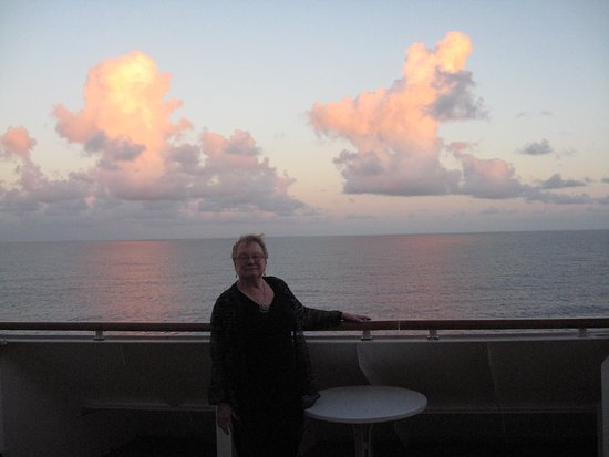 Regal Princess: We did love our huge balcony this voyage.