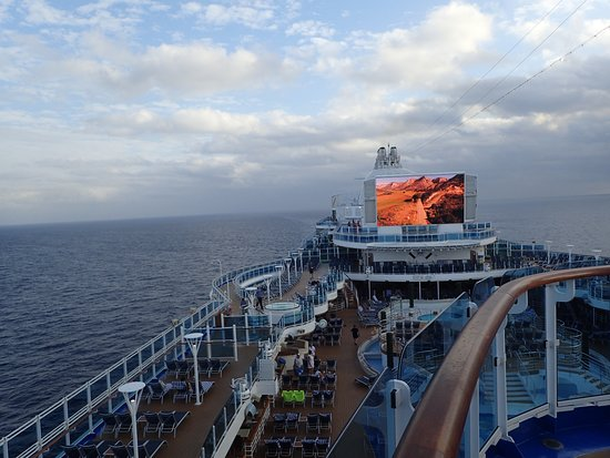Regal Princess: Day at sea