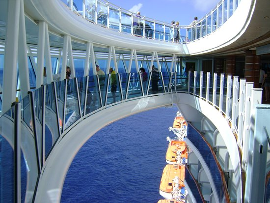 Regal Princess: seawalk