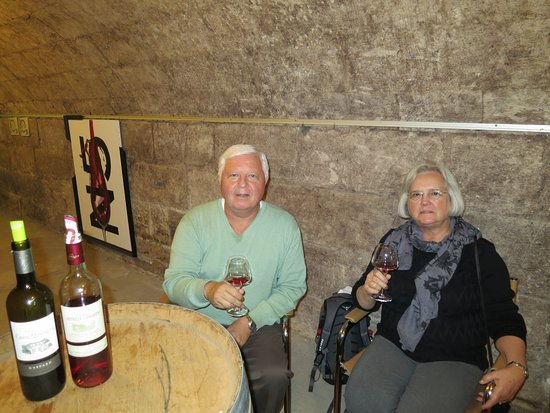Viking Forseti: We really enjoyed the wine tasting in Bordeaux.