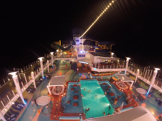 Norwegian Escape: The ship at night was beautiful!