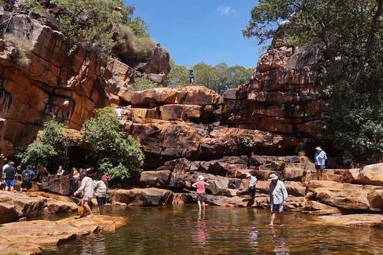 Coral Discoverer: Daily landings to explore - go climbing or paddling in a croc free pool