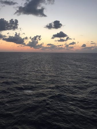 Norwegian Breakaway: Sunset