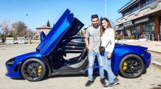 Test Drive em Maranello: Gean Silva Test Drive  Rent car