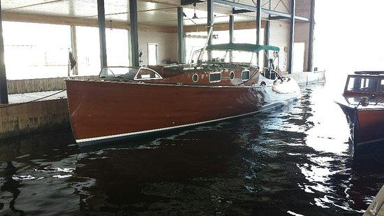 Pearl Mist: Boathouse Museum, Clayton, NY