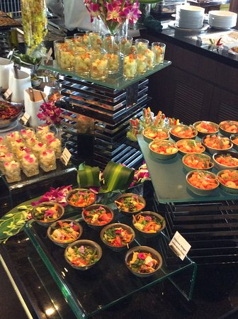Scenic Spirit: Part of the Buffet lunch selection