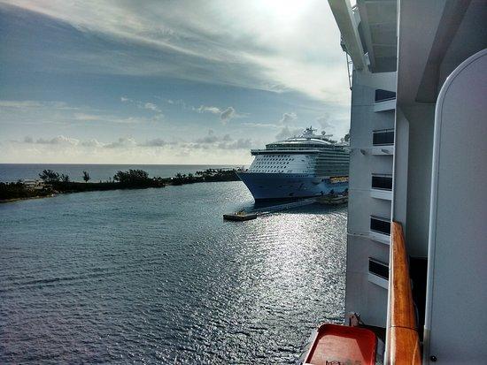 MSC Divina: Arriving at Nassau Port