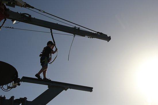 Norwegian Escape: Walking the plank!