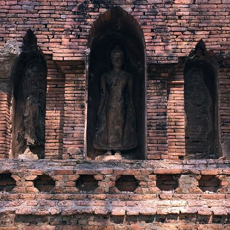 the decoration of the main pagoda