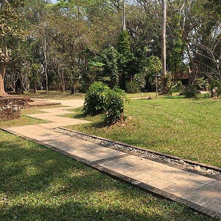 clear walkway