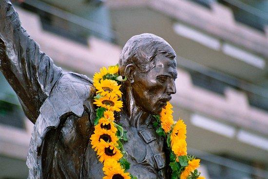 مونترو, سويسرا: Freddie Mercury Statue Montreux
