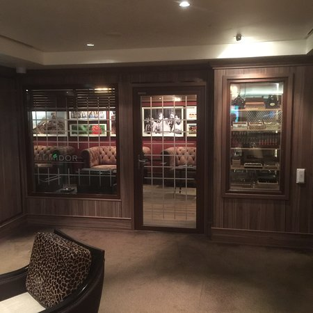 Norwegian Getaway: The Humidor. This was Guantanamo for myself and other Cigar smokers. 300 Square Feet of poorly AC
